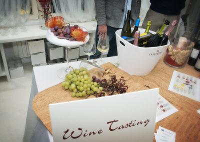 degustazione vino à porter